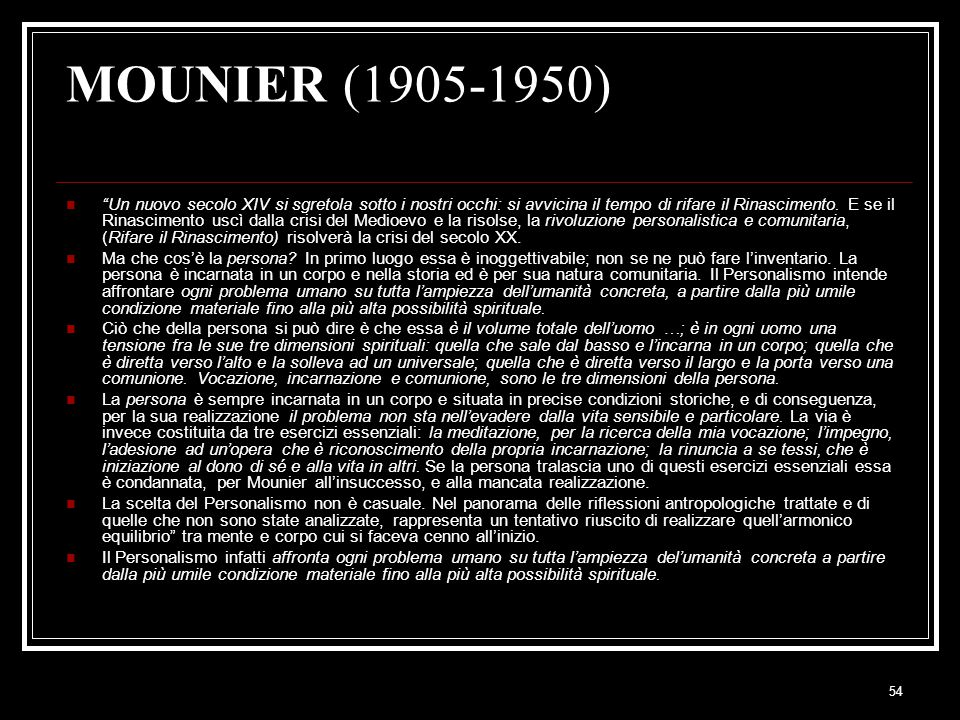 MOUNIER (1905-1950)