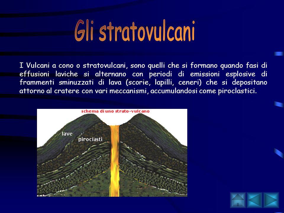 Gli stratovulcani
