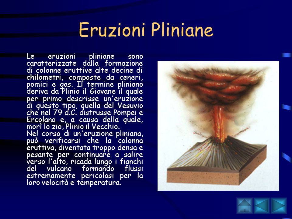 Eruzioni Pliniane