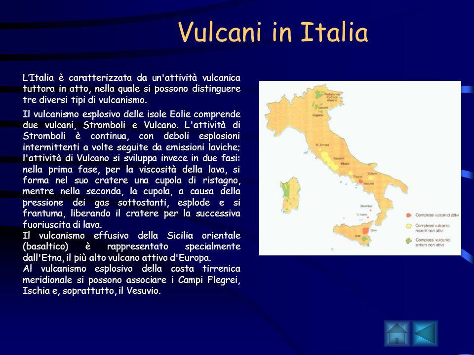 Vulcani in Italia