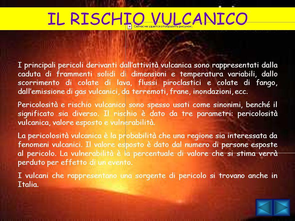 IL RISCHIO VULCANICO