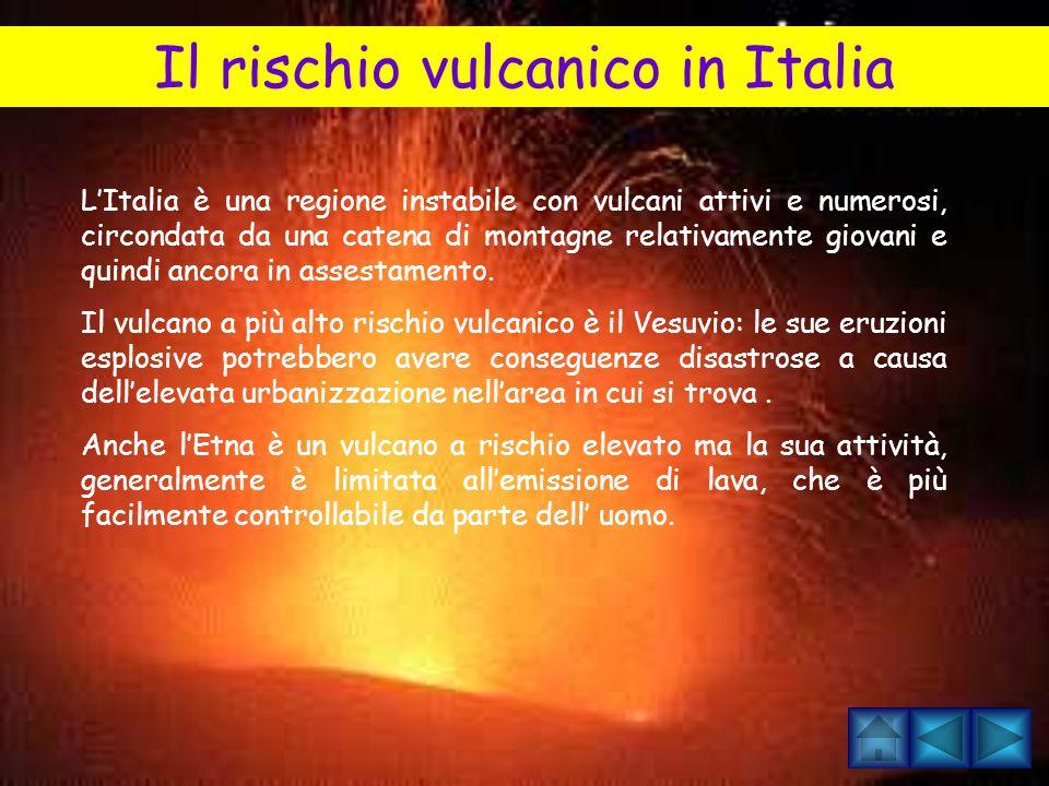 Il rischio vulcanico in Italia