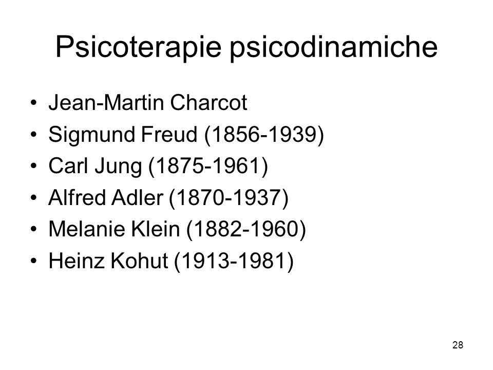 Psicoterapie psicodinamiche