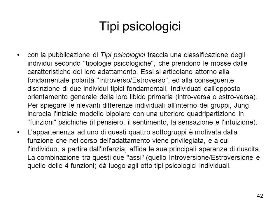Tipi psicologici