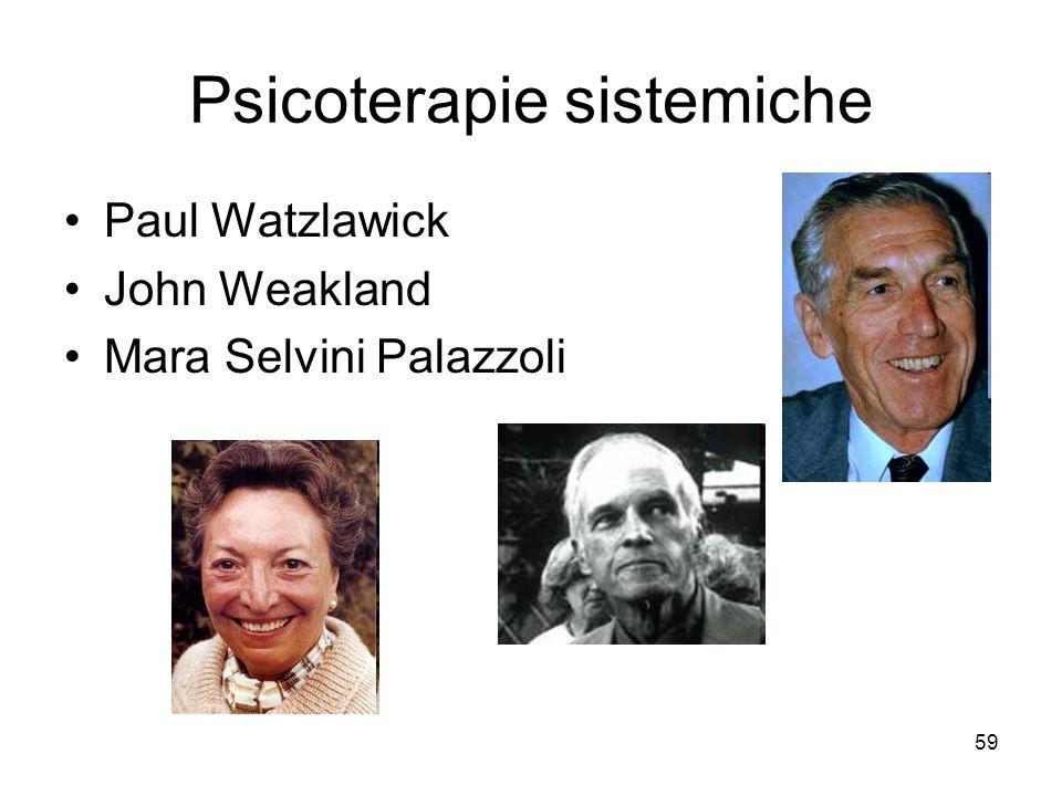 Psicoterapie sistemiche