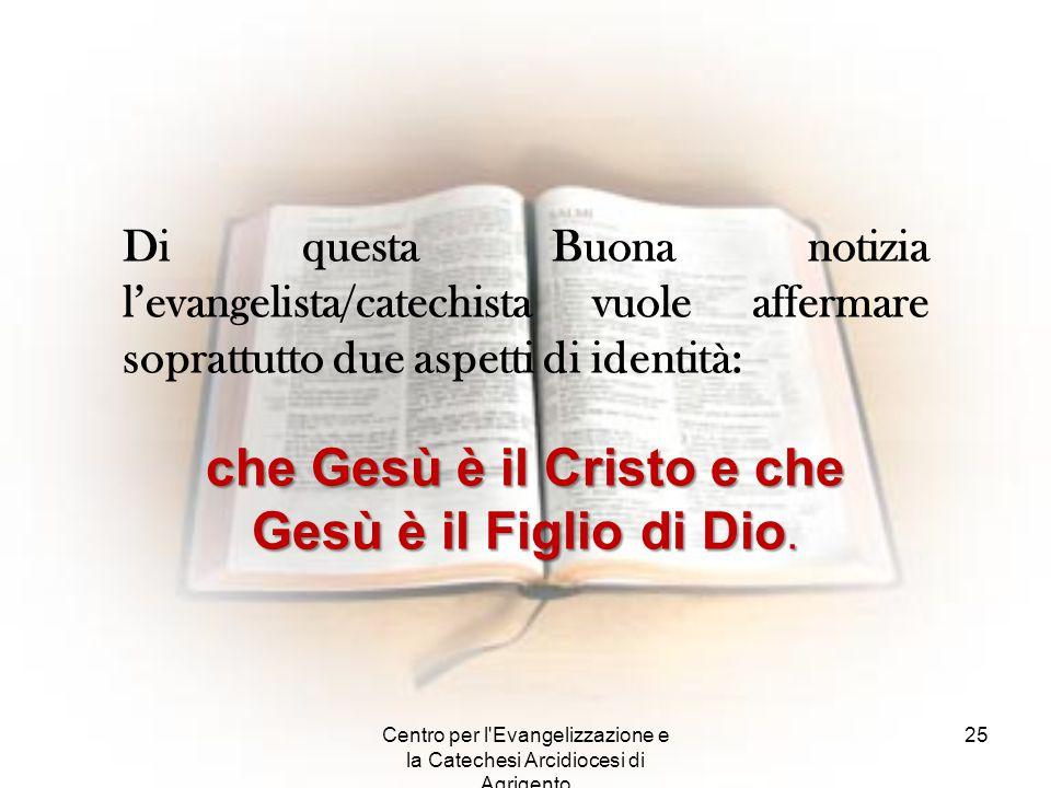 che Gesù è il Cristo e che