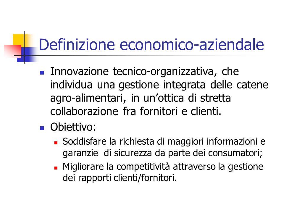 Definizione economico-aziendale