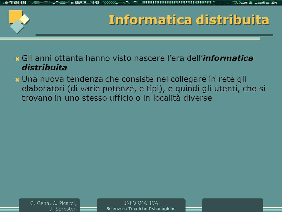 Informatica distribuita