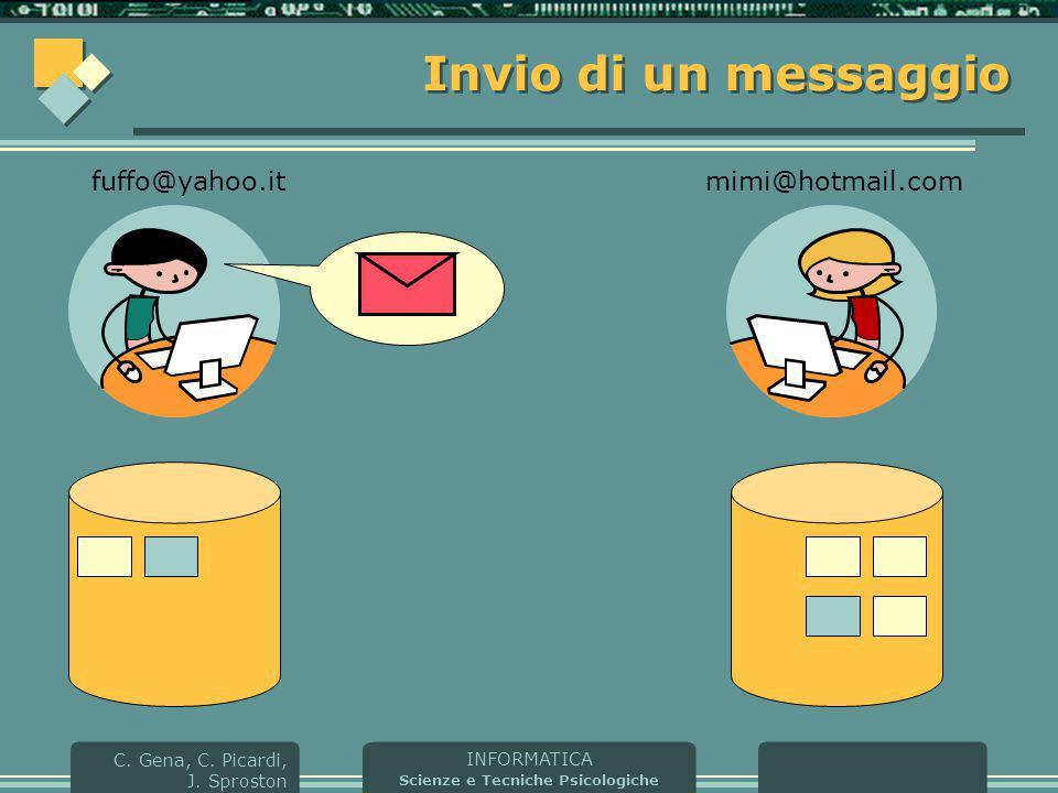 Invio di un messaggio fuffo@yahoo.it mimi@hotmail.com