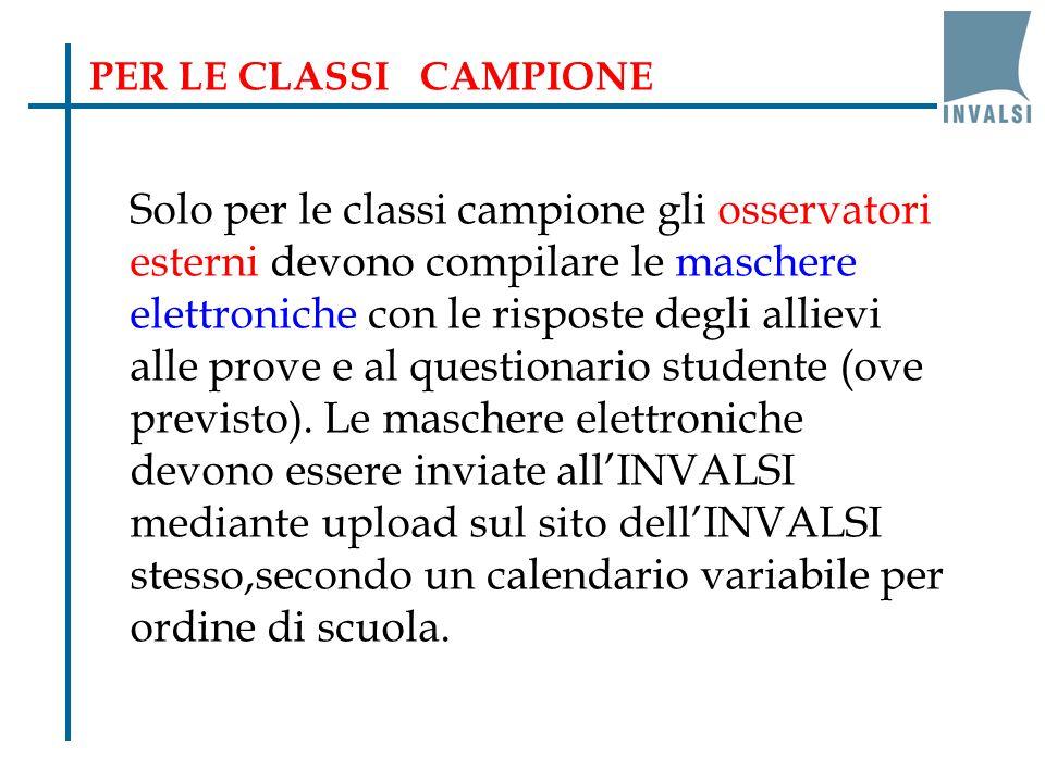 PER LE CLASSI CAMPIONE