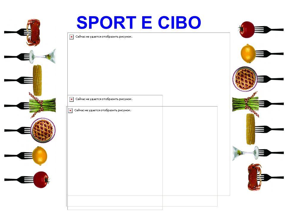 SPORT E CIBO 11 11 11 11