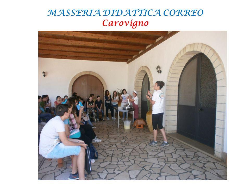 MASSERIA DIDATTICA CORREO Carovigno