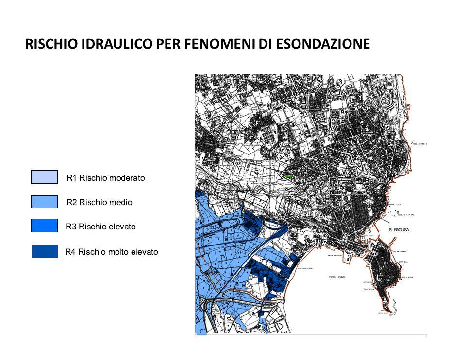 RISCHIO IDRAULICO PER FENOMENI DI ESONDAZIONE