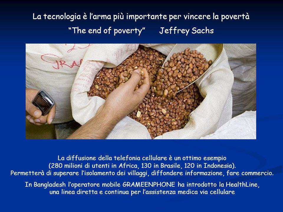 La tecnologia può sconfiggere la povertà