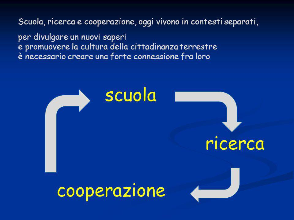 scuola ricerca cooperazione