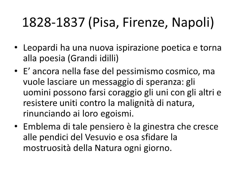 1828-1837 (Pisa, Firenze, Napoli)