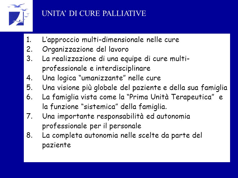 UNITA' DI CURE PALLIATIVE