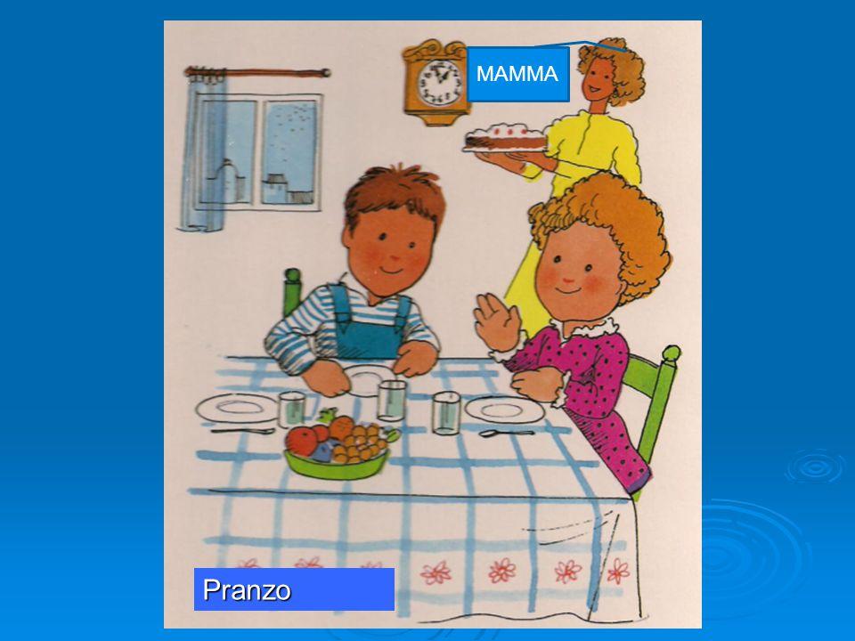 MAMMA Pranzo. a cura dell ins.te Lucia Pellegrino nell ambito del corso PON una LIM per tutti 2014.