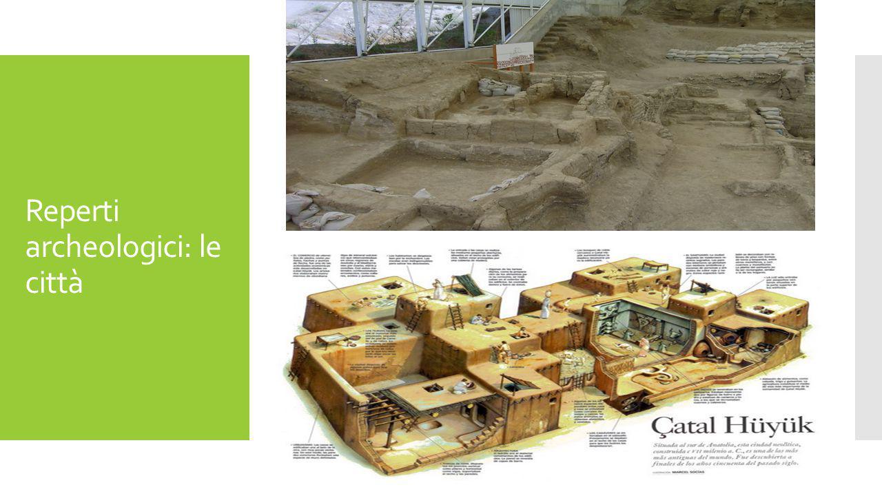 Reperti archeologici: le città