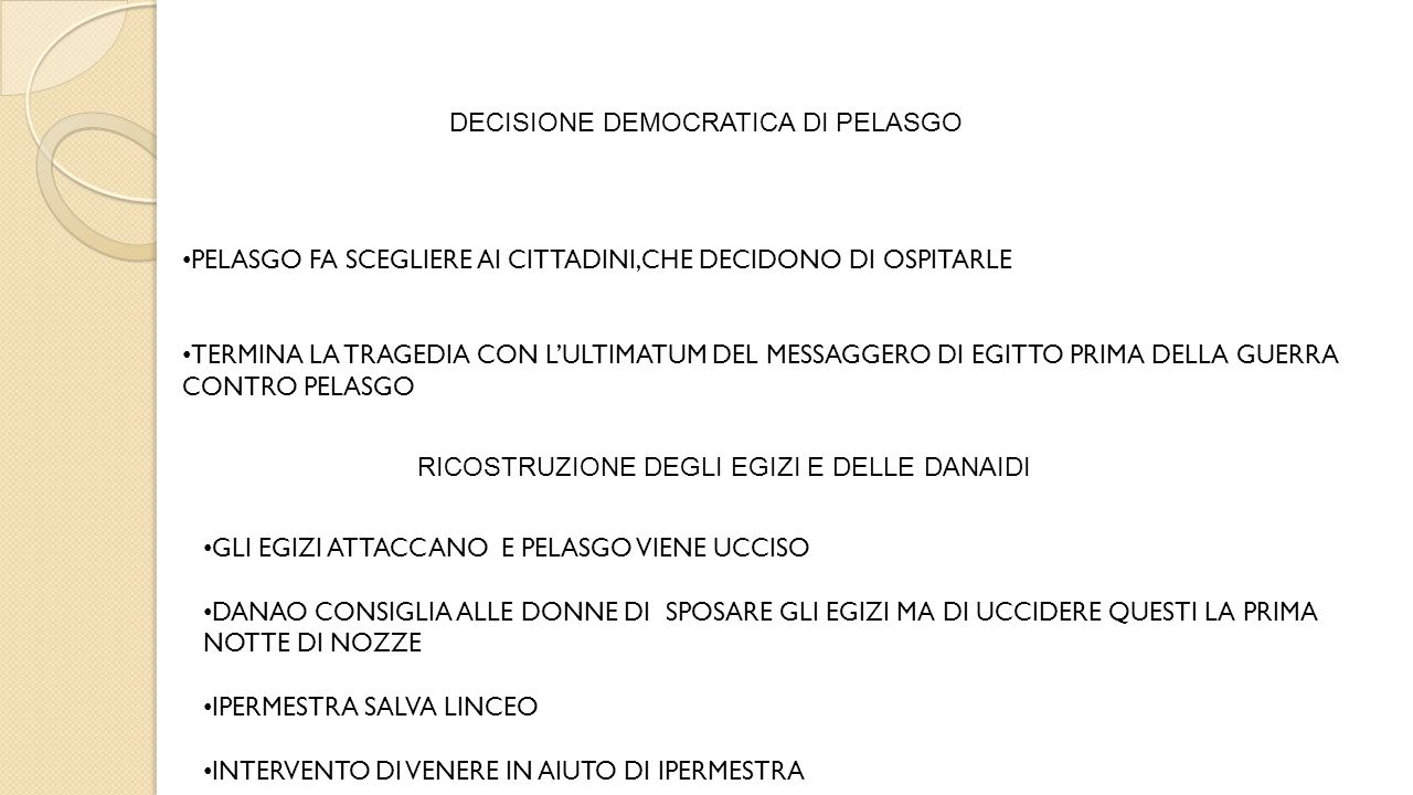 DECISIONE DEMOCRATICA DI PELASGO
