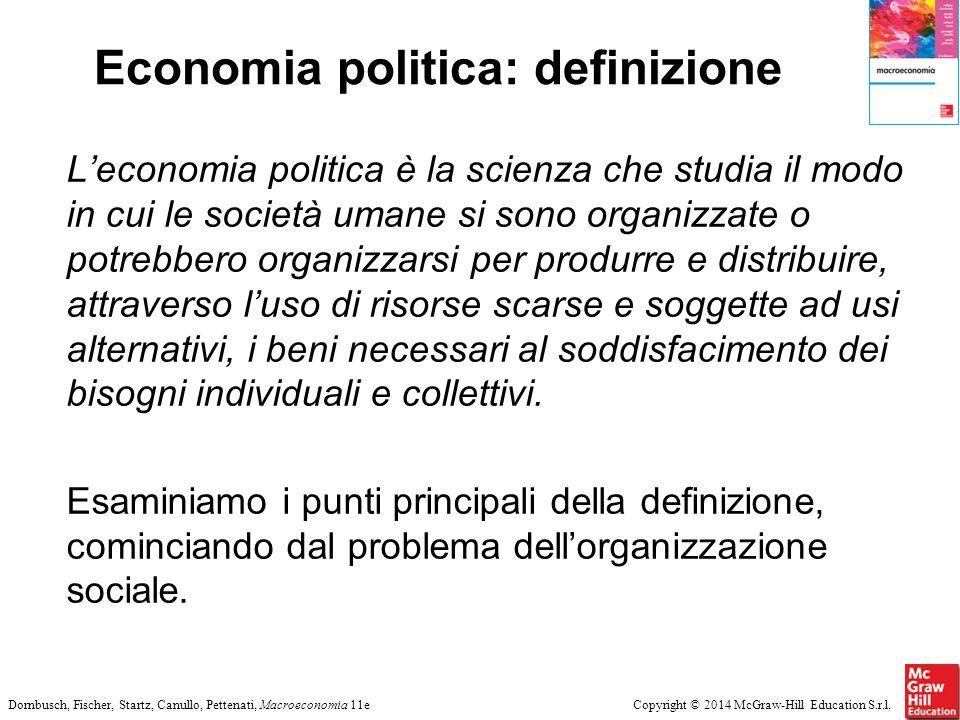 Economia politica: definizione
