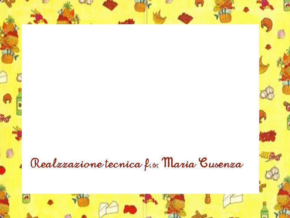 Realzzazione tecnica f.s. Maria Cusenza