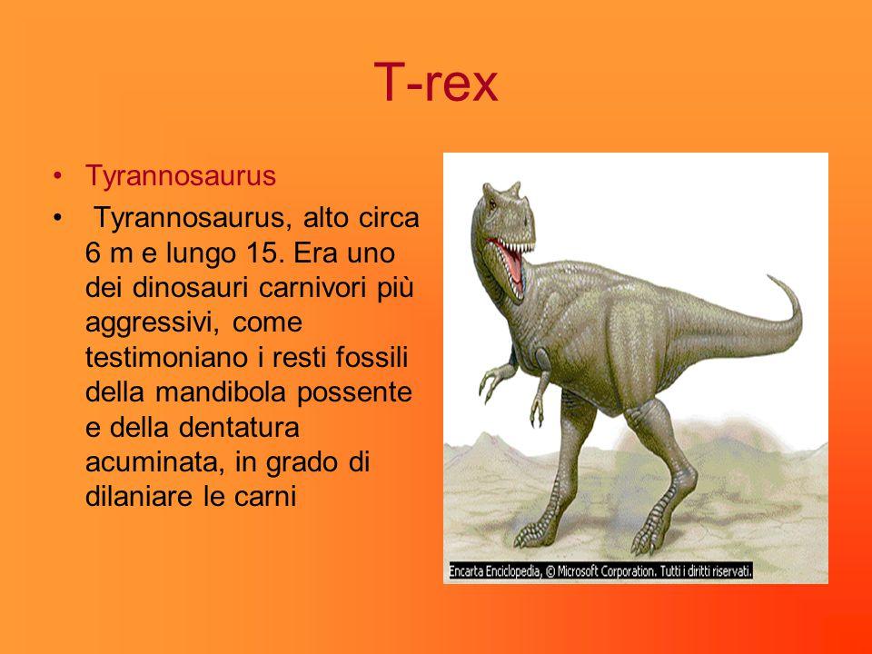 T-rex Tyrannosaurus.