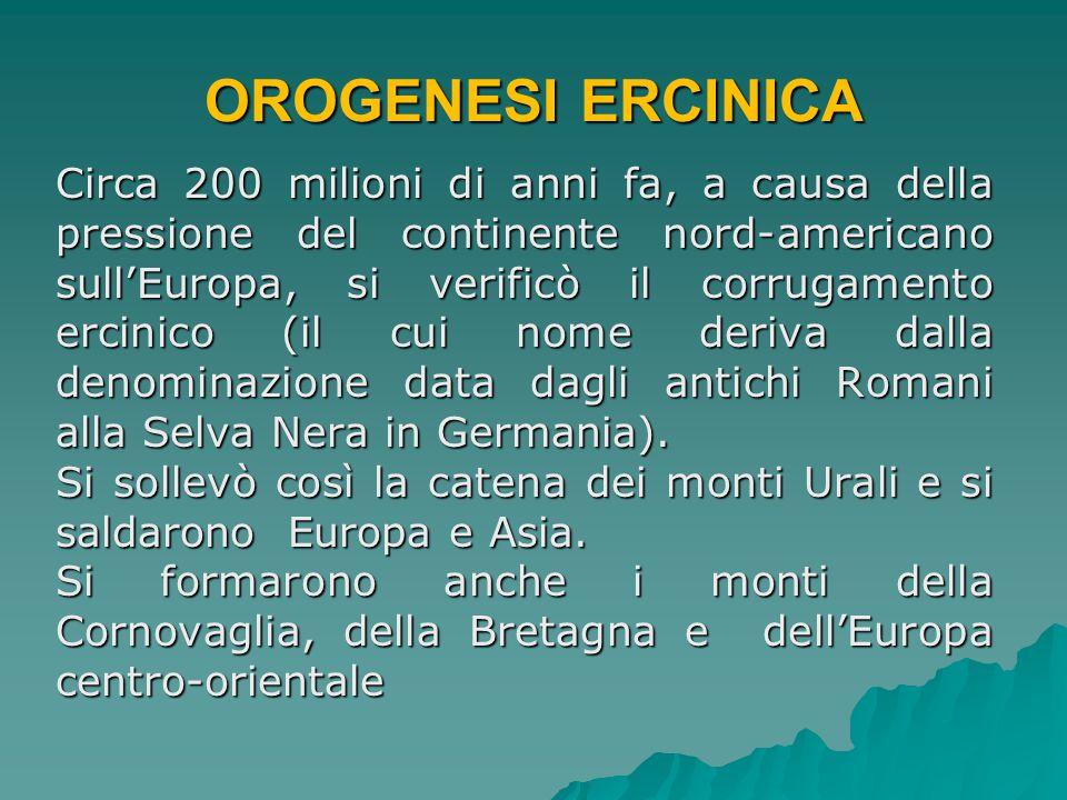 OROGENESI ERCINICA