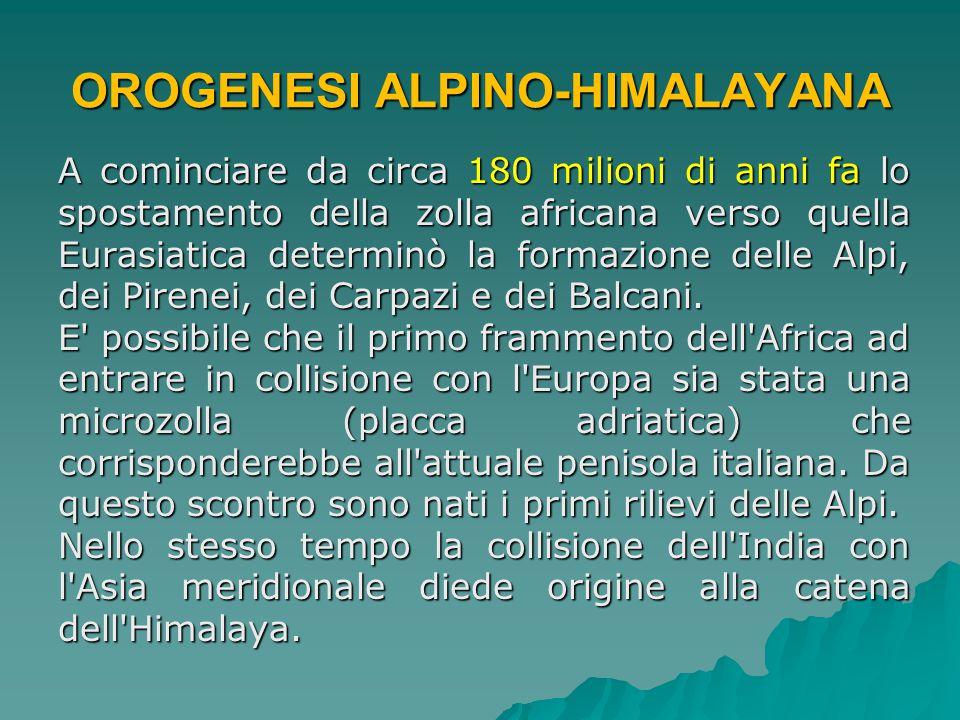 OROGENESI ALPINO-HIMALAYANA