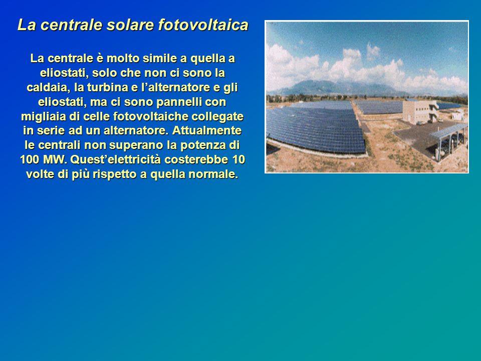 La centrale solare fotovoltaica