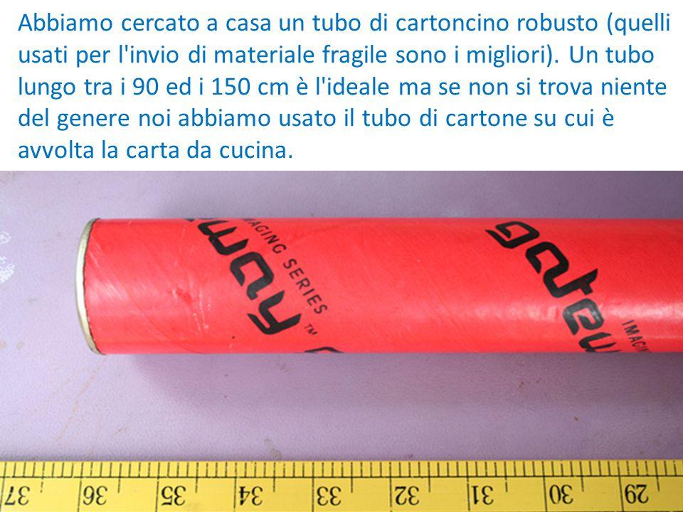 Il bastone della pioggia costruzione di uno strumento for Calcolatore del materiale da costruzione della casa