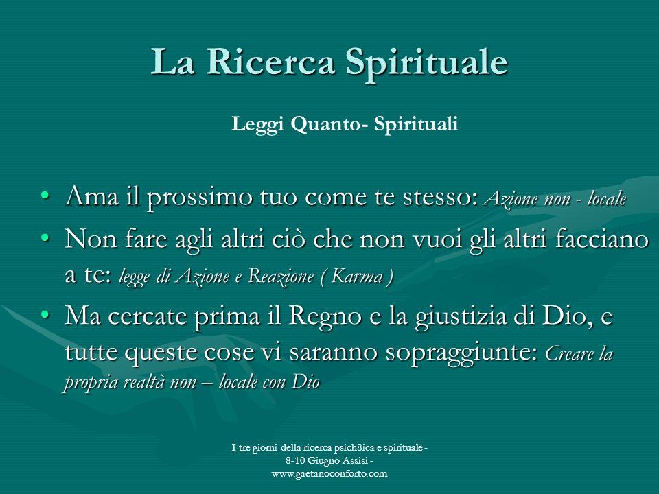 Leggi Quanto- Spirituali