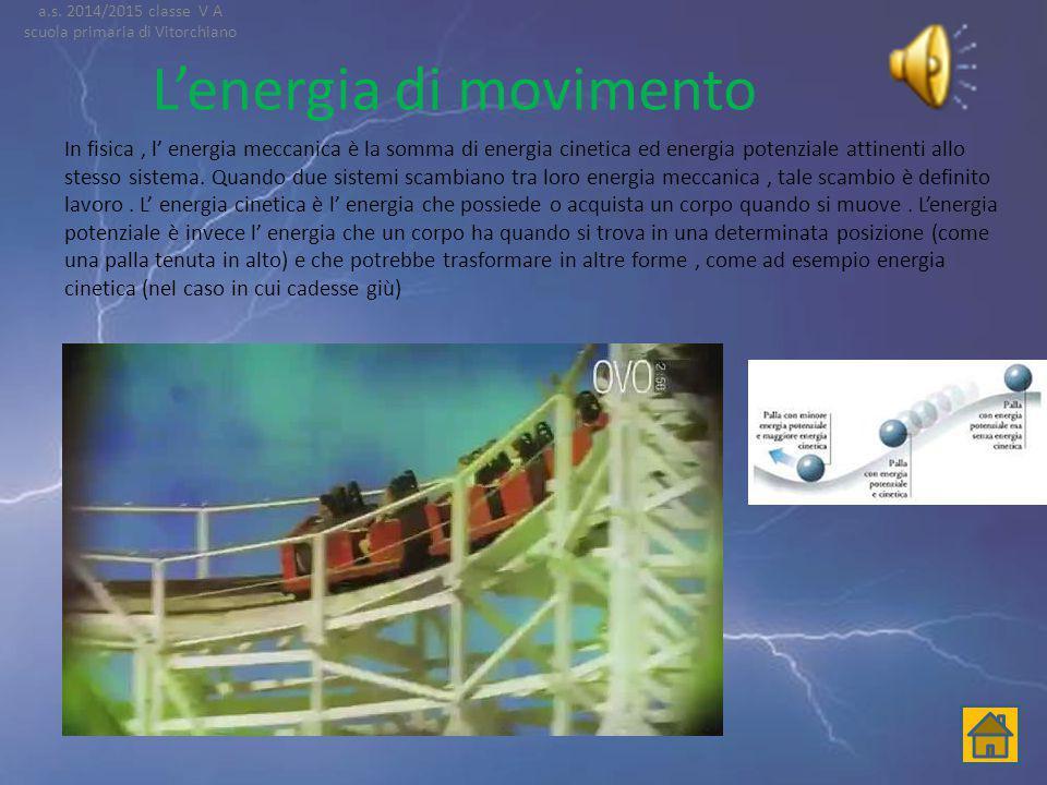 L'energia di movimento