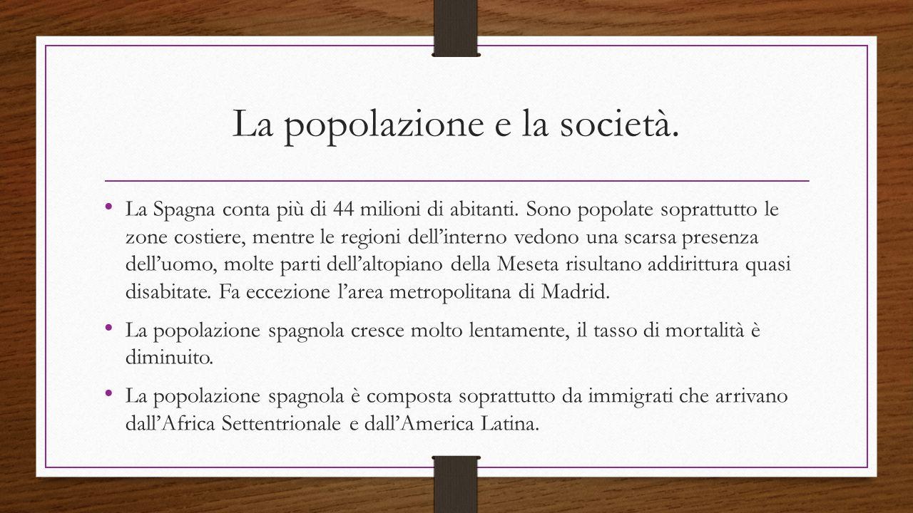 La popolazione e la società.