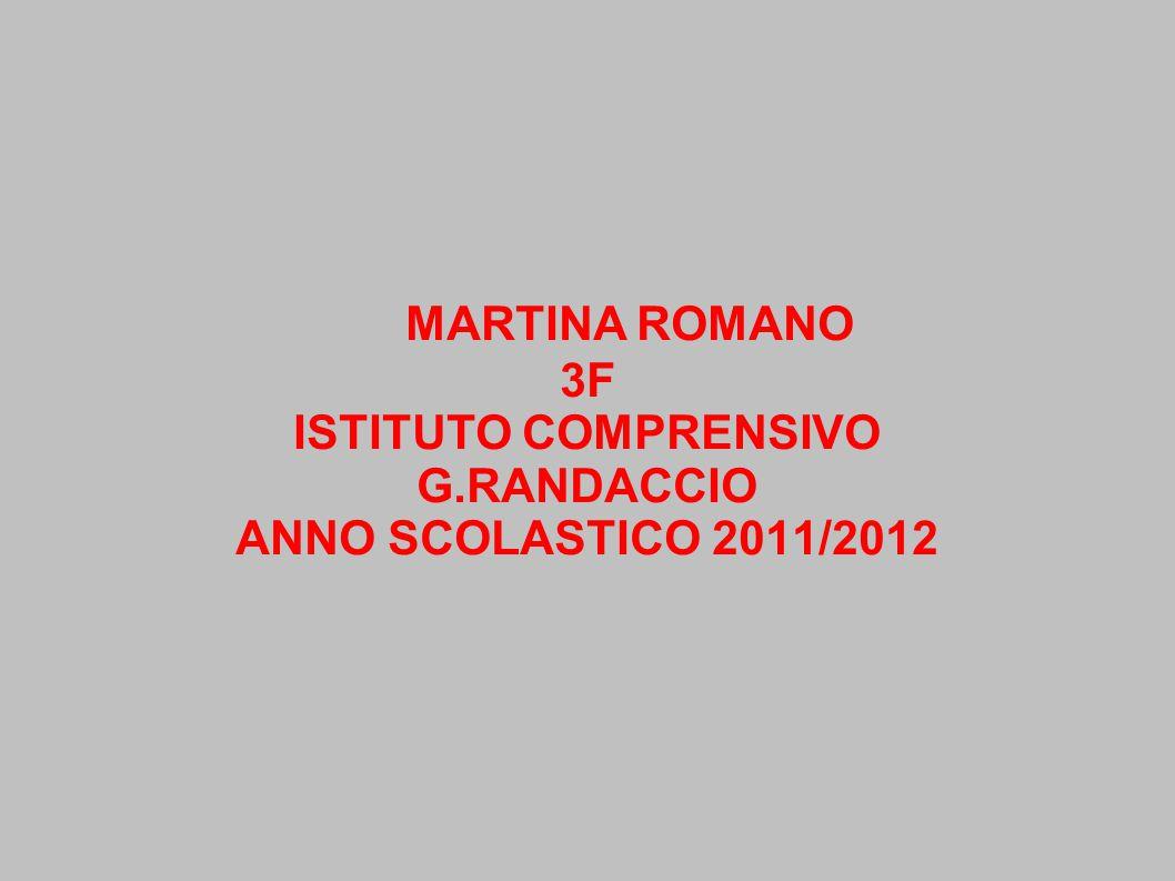 ISTITUTO COMPRENSIVO G.RANDACCIO ANNO SCOLASTICO 2011/2012