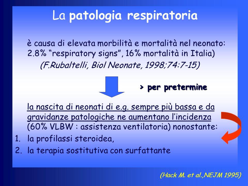 La patologia respiratoria