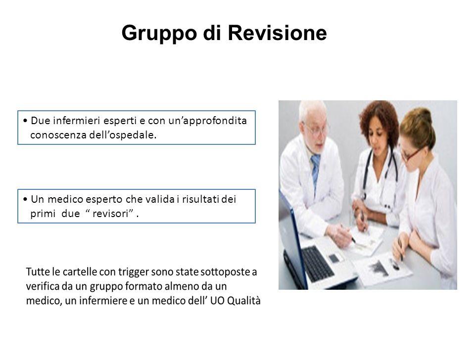 Gruppo di Revisione • Due infermieri esperti e con un'approfondita