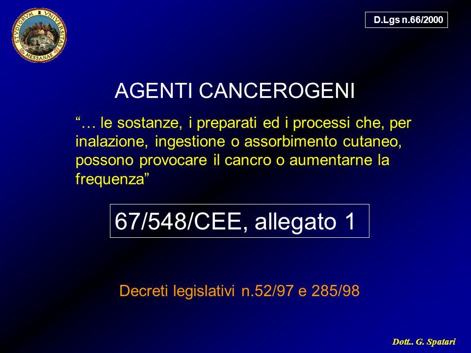 Decreti legislativi n.52/97 e 285/98