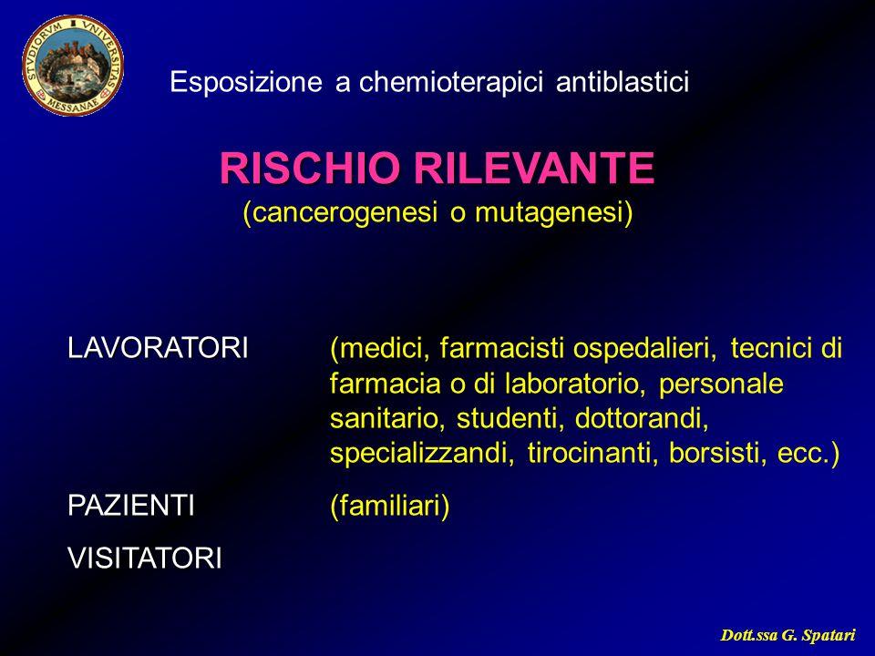 (cancerogenesi o mutagenesi)