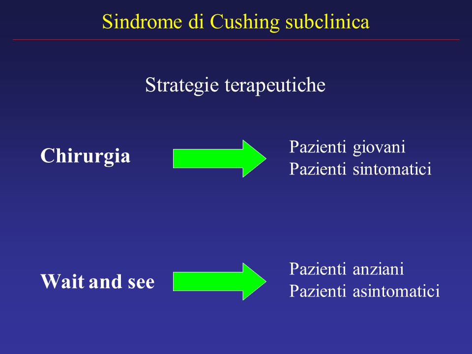 Sindrome di Cushing subclinica