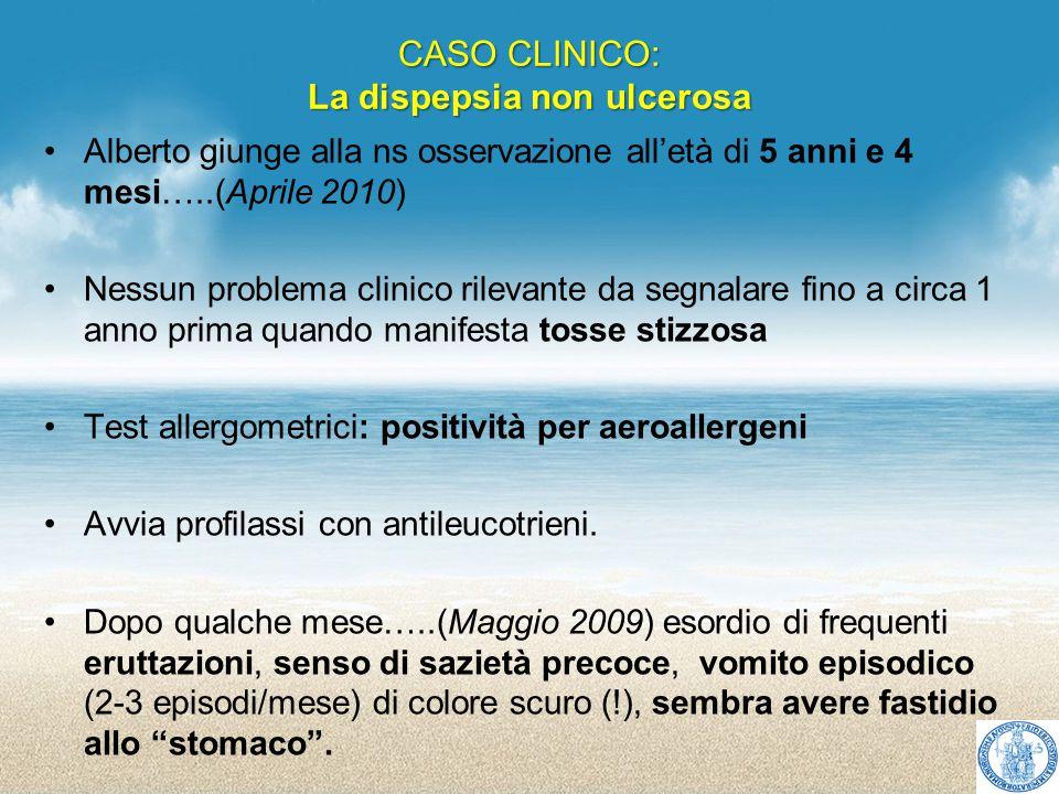 CASO CLINICO: La dispepsia non ulcerosa