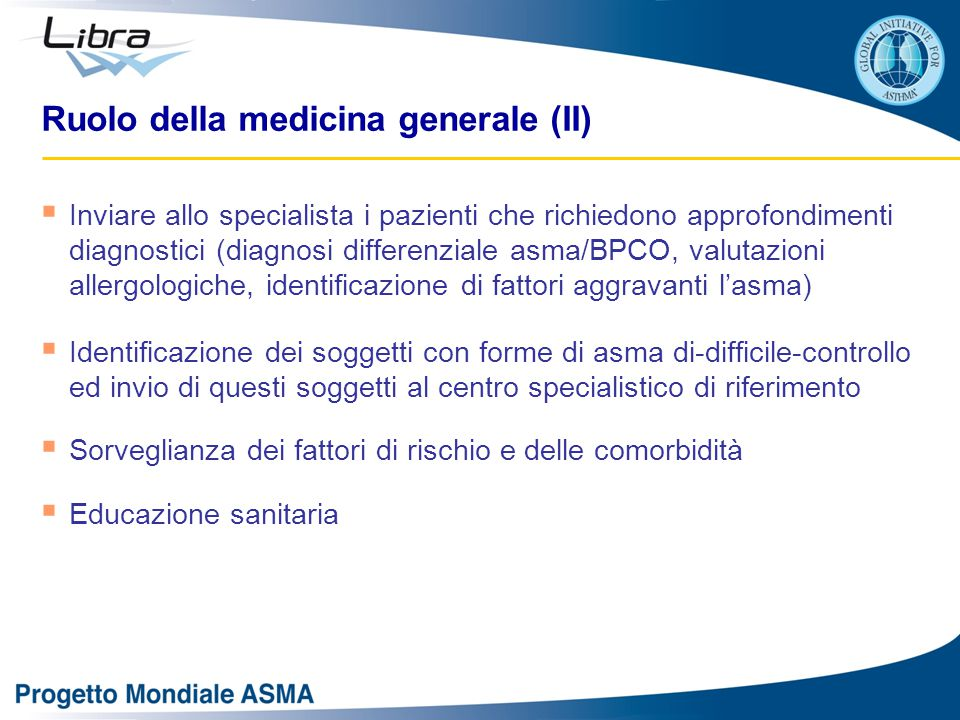 Ruolo della medicina generale (II)