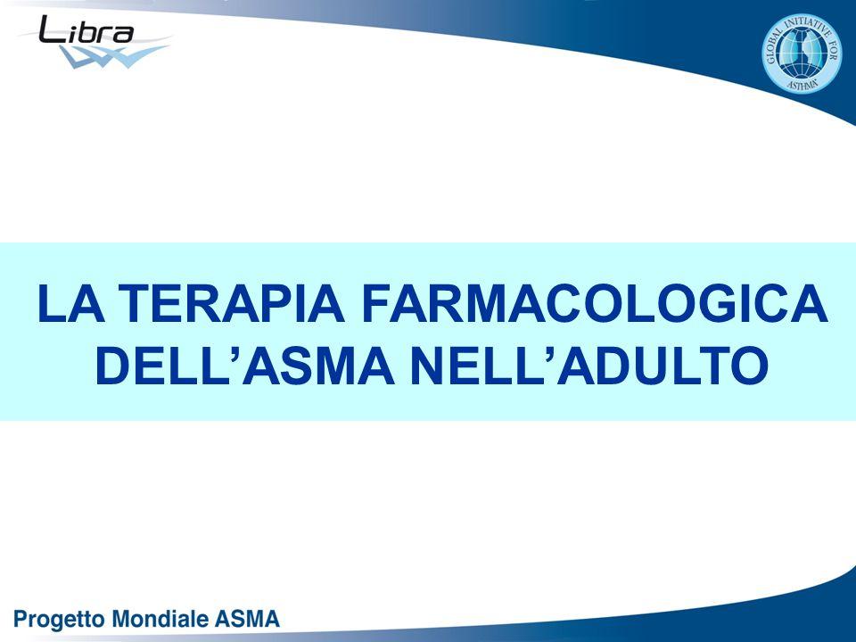 LA TERAPIA FARMACOLOGICA DELL'ASMA NELL'ADULTO
