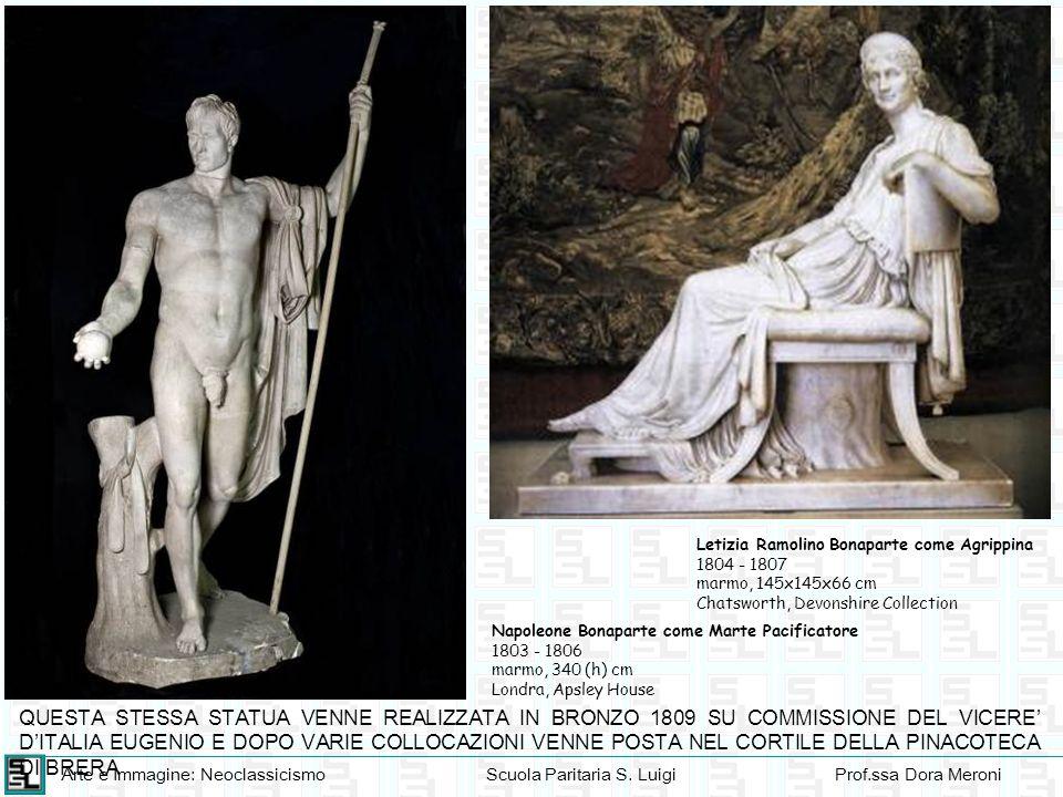 Letizia Ramolino Bonaparte come Agrippina