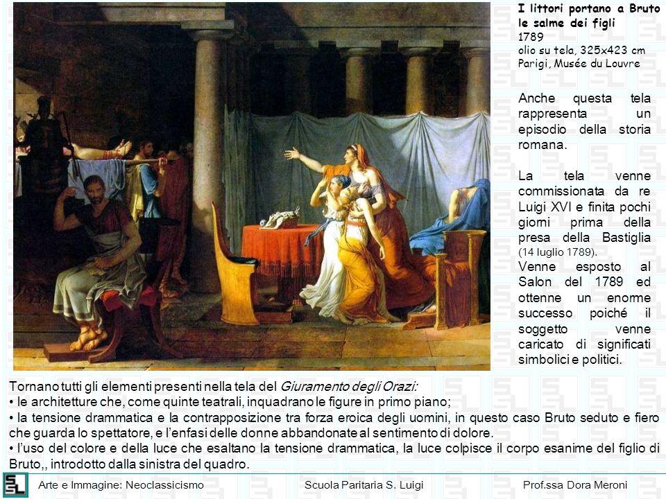 Anche questa tela rappresenta un episodio della storia romana.