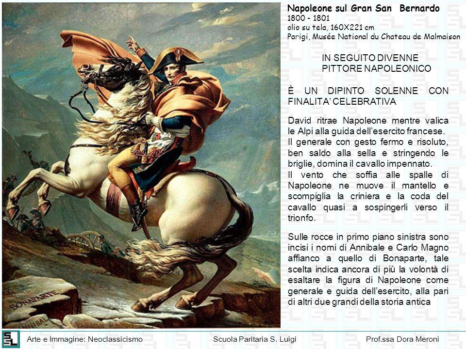 Napoleone sul Gran San Bernardo