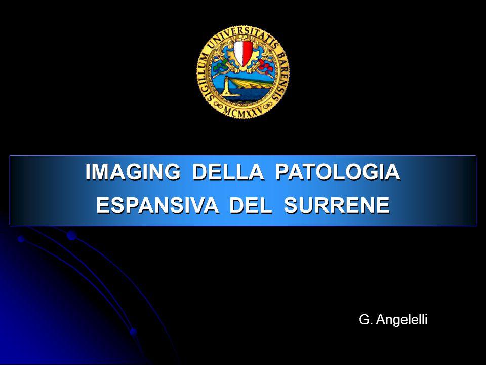 IMAGING DELLA PATOLOGIA