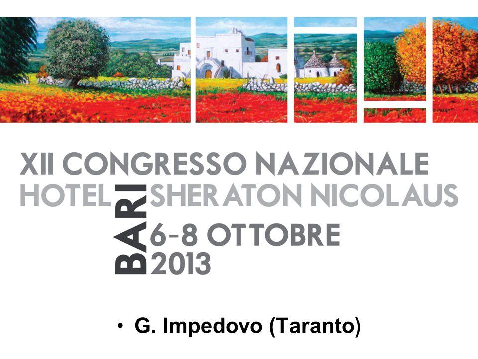 G. Impedovo (Taranto)