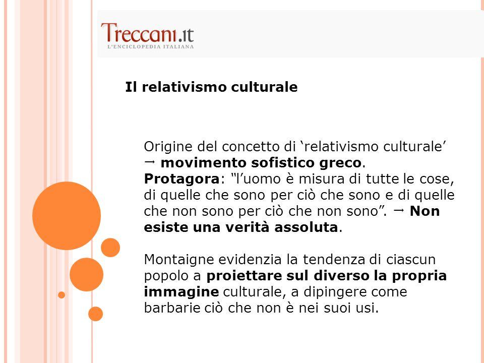 Il relativismo culturale