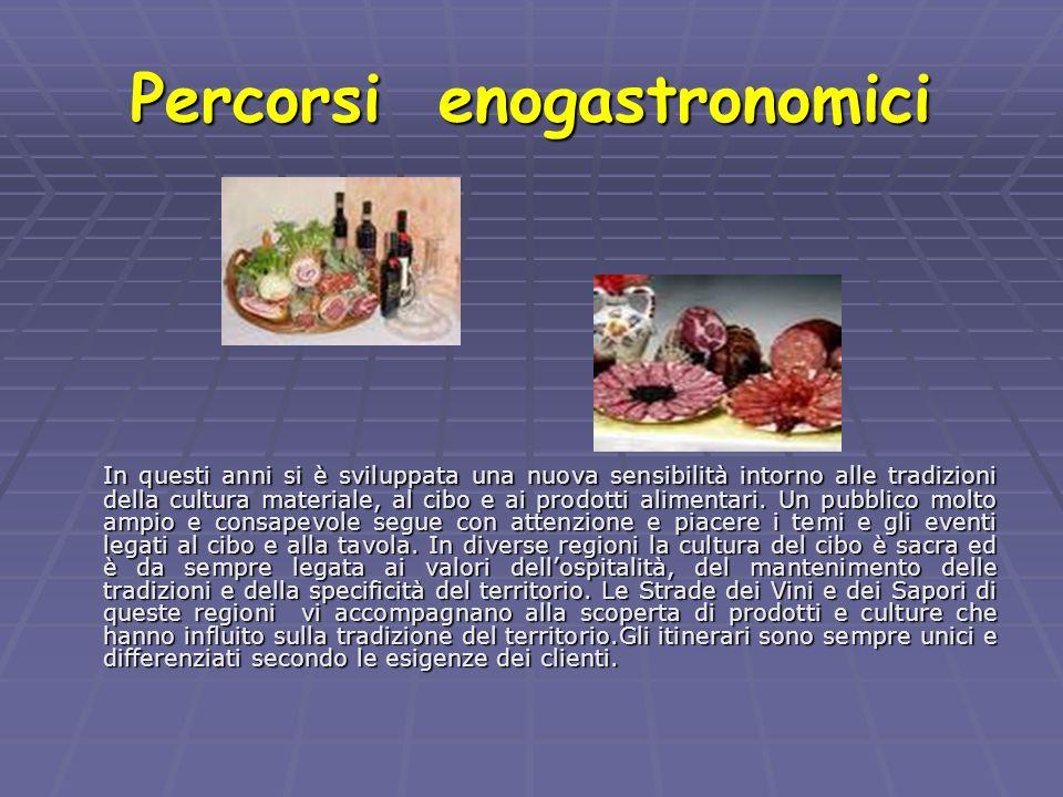Percorsi enogastronomici